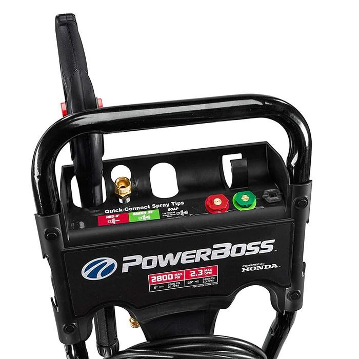 Powerboss Pressure Washer Gcv160 Honda 2800 Psi 23 Gpm 20574