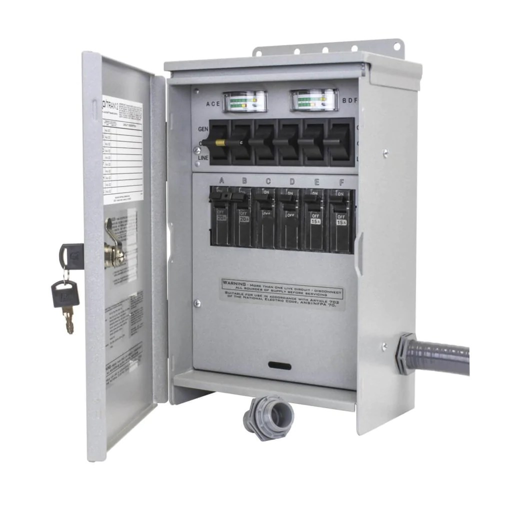 medium resolution of reliance r306a 120 240 volt 30 amp 6 circuit pro tran outdoor transfer generator factory outlet