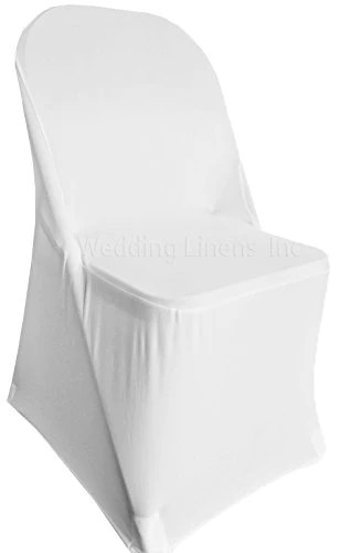 stretch chair covers for folding chairs houzz dining wedding linens inc 2 pcs spandex fitted lycra
