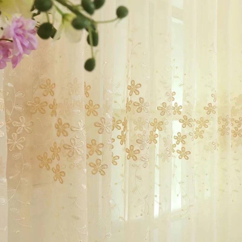 rideaux voilage dore rideau et voilage