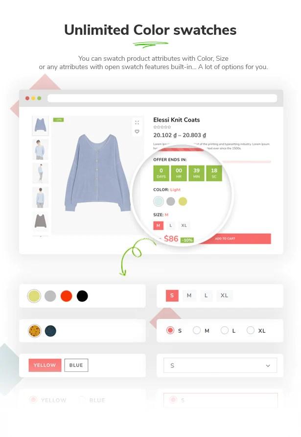 Elessi - Responsive Shopify Theme - 11