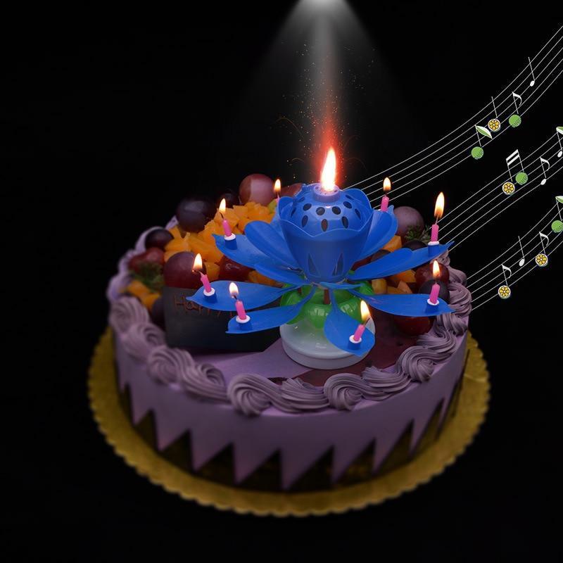musical magic birthday candle