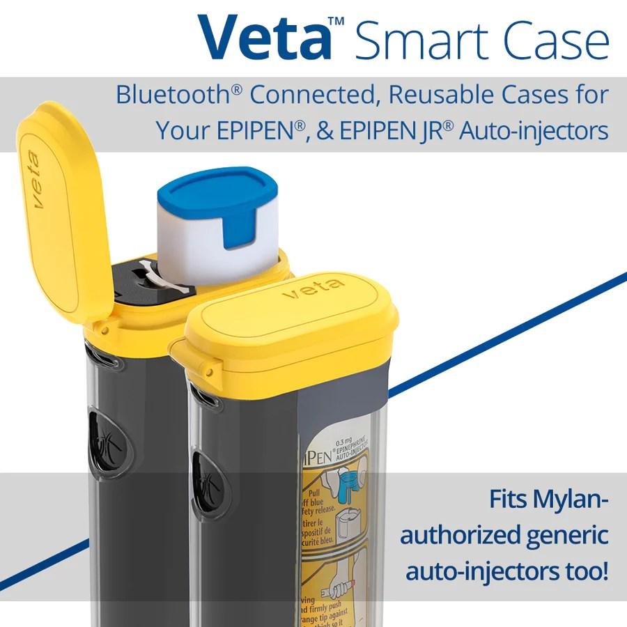 veta smart case for epipen auto injector [ 900 x 900 Pixel ]
