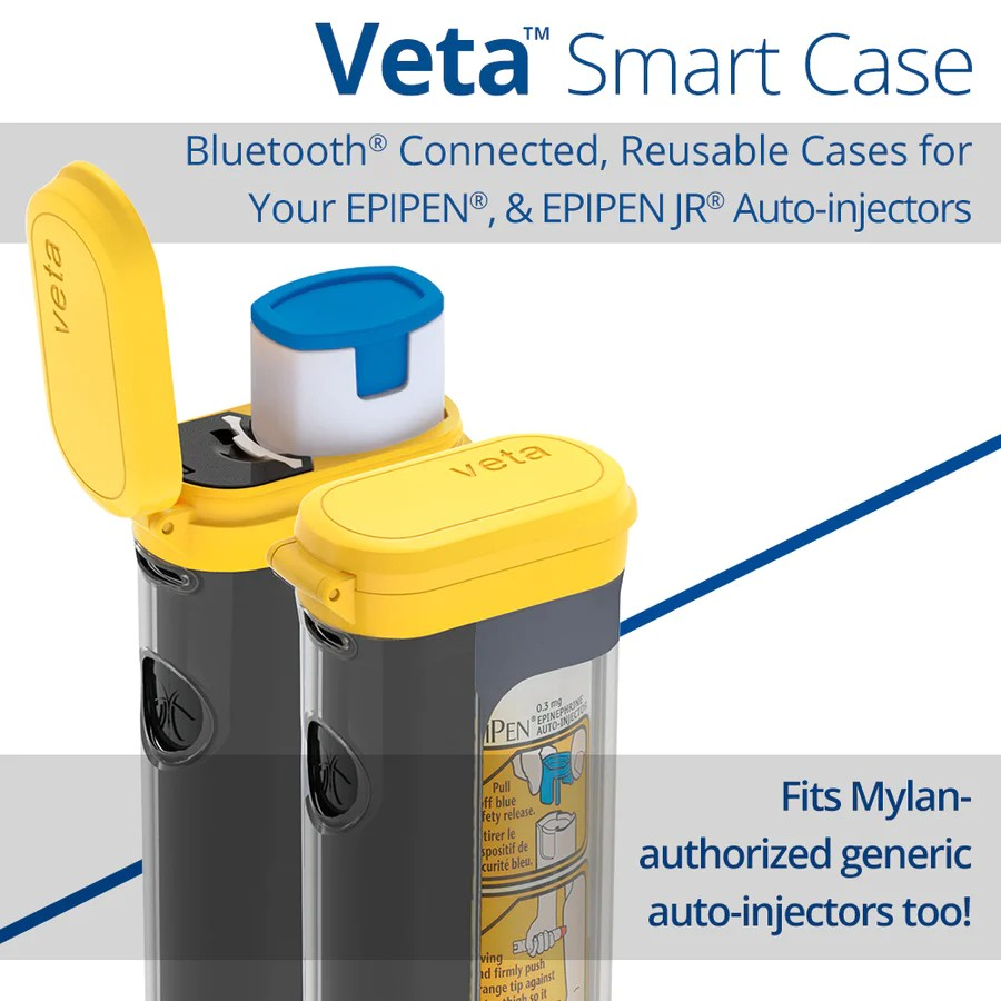 hight resolution of  veta smart case for epipen auto injector