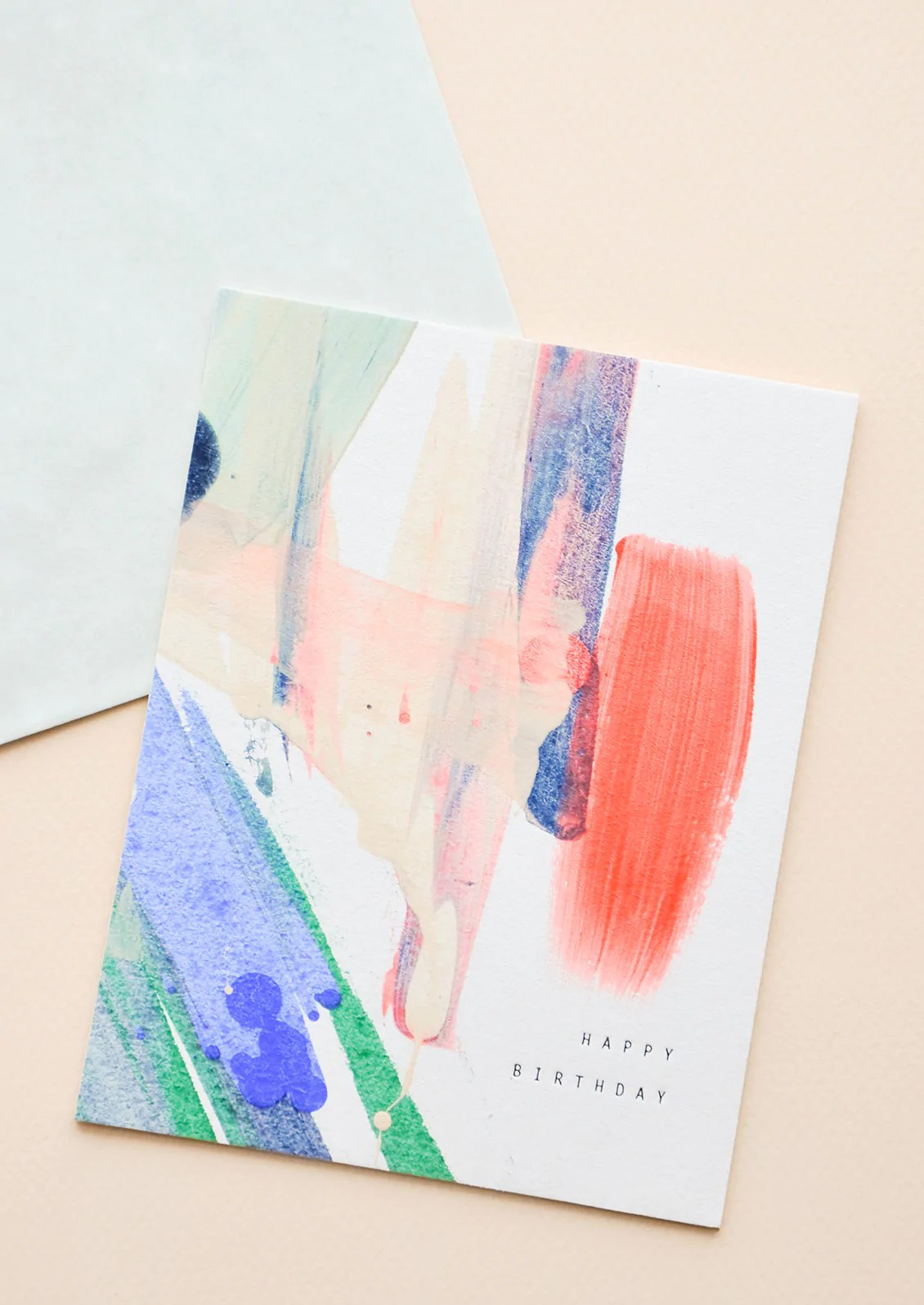 Birthday Card Painting : birthday, painting, Moglea, Painted, Paintswirl, Happy, Birthday