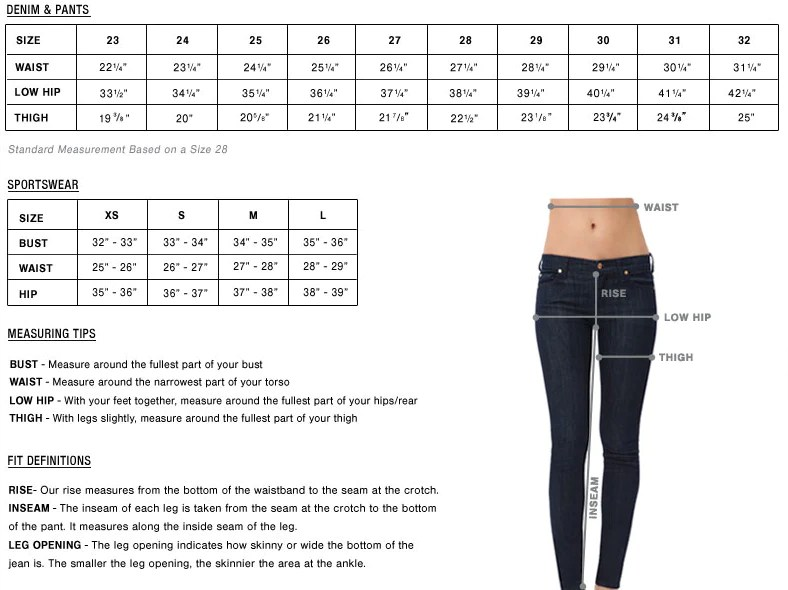 In most seven for all mankind jeans  wear  size though also chart hub rh kumau