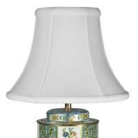 Vintage Floral Tin Lamp