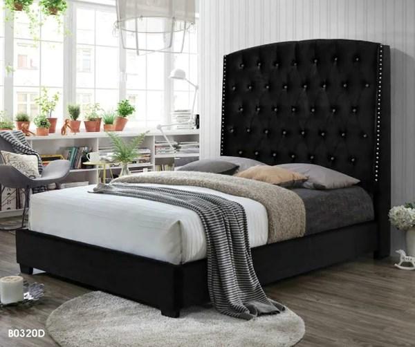 luxurious bedroom black bed