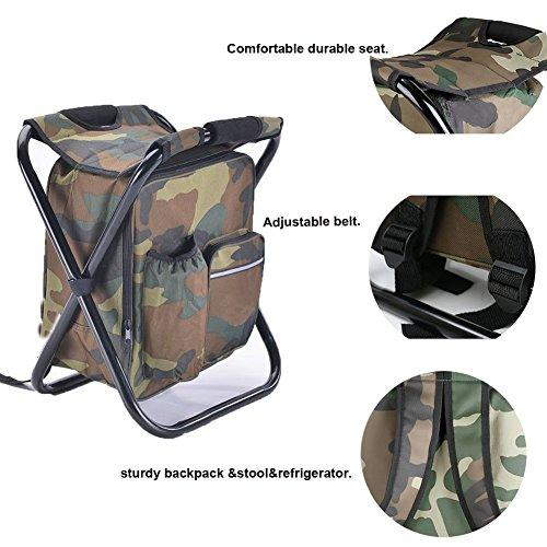 fishing cooler chair argos home office desk and set oak effect backpack foldable portable camping stool for outdoor indoor hiking