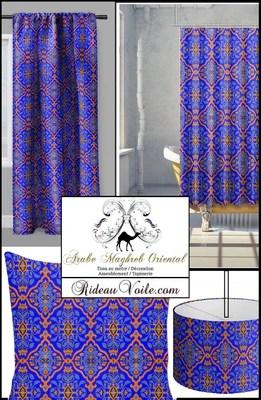 https rideauvoile com products motif orientaux rideau occultant tissu ameublement ignifuge metre arabe art maghreb