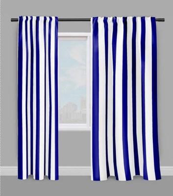 https rideauvoile com products tissu motif rayes bleu rayures ligne blanc au metre rideau couette voilage