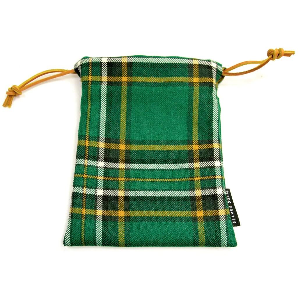 zippered drawstring golf pouches