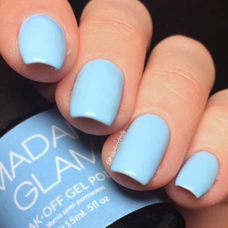 baby blue madam glam