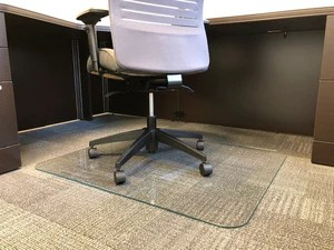 office chair mat 45 x 60 antique wooden dining room chairs products lucidity glass with scratchshield