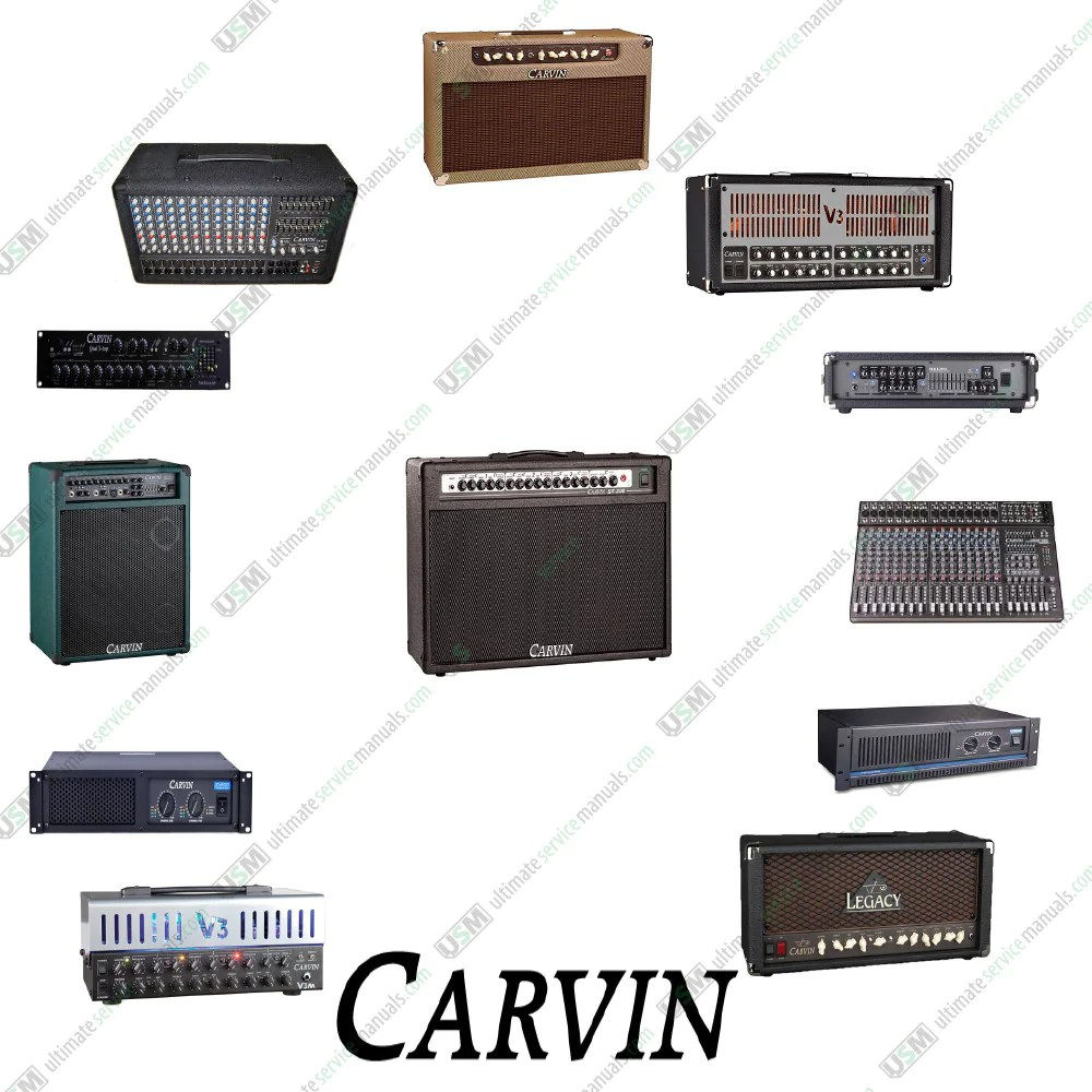 hight resolution of carvin ultimate repair service schematics 450 pdf on