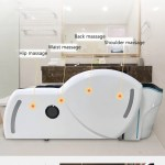 Shampoo Electric Massage Bed For Beauty Hair Salon Spa