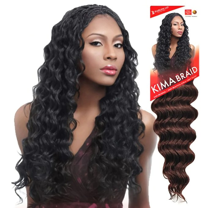 harlem 125 kima braid - ocean wave 20""