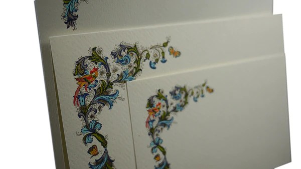 Boxed Stationery Writing Letters
