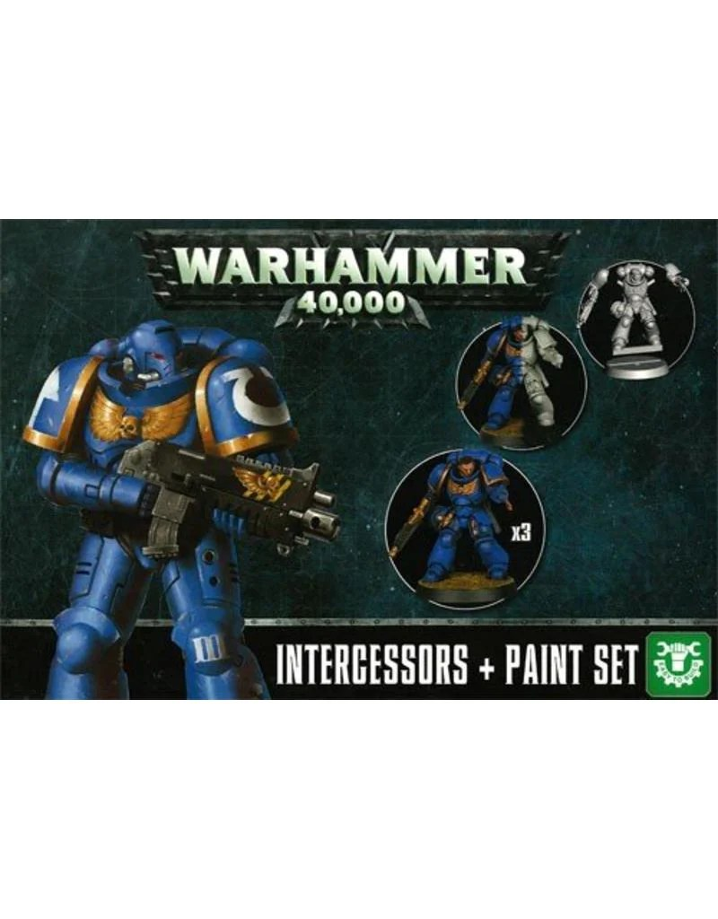 Games Workshop Primaris Intercessors Paint Set