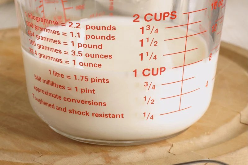 1 Liter Equals How Many Cups