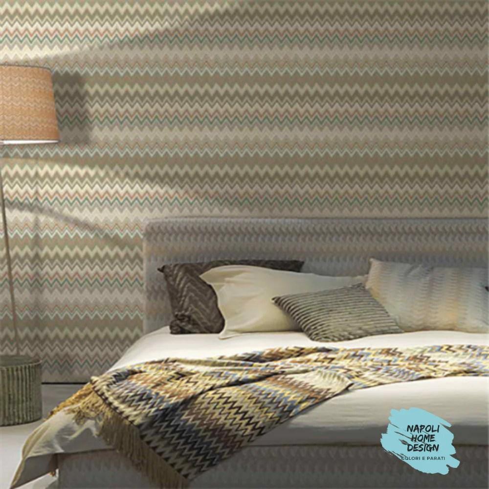 Un modo semplice e comodo per rendere le tue pareti originali e dar loro un aspetto unico. Motivo Zig Zag Napoli Home Design