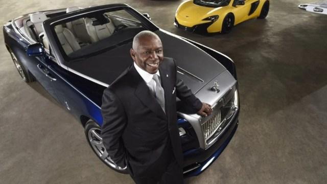Meet The First African American Lamborghini and McLaren Dealer