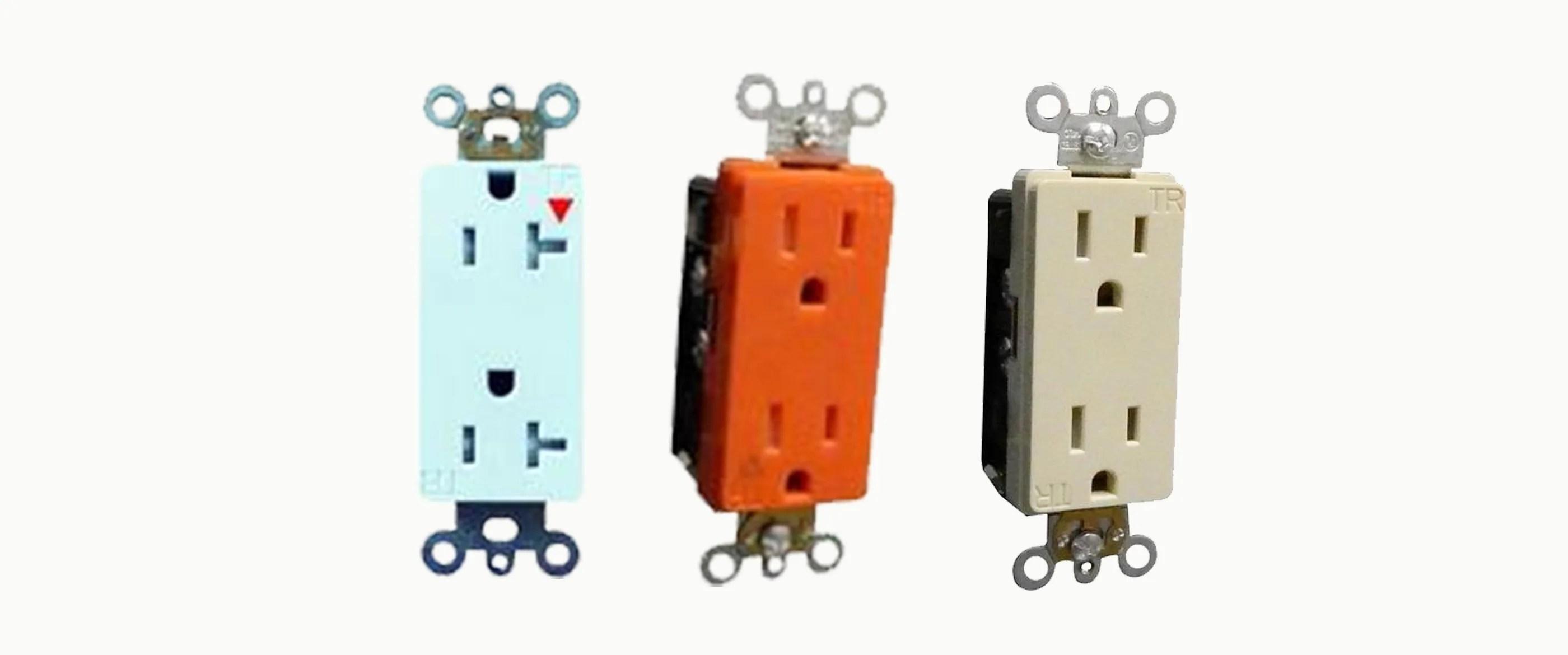 decorative tamper resistant commercial grade duplex receptacles [ 2800 x 1170 Pixel ]