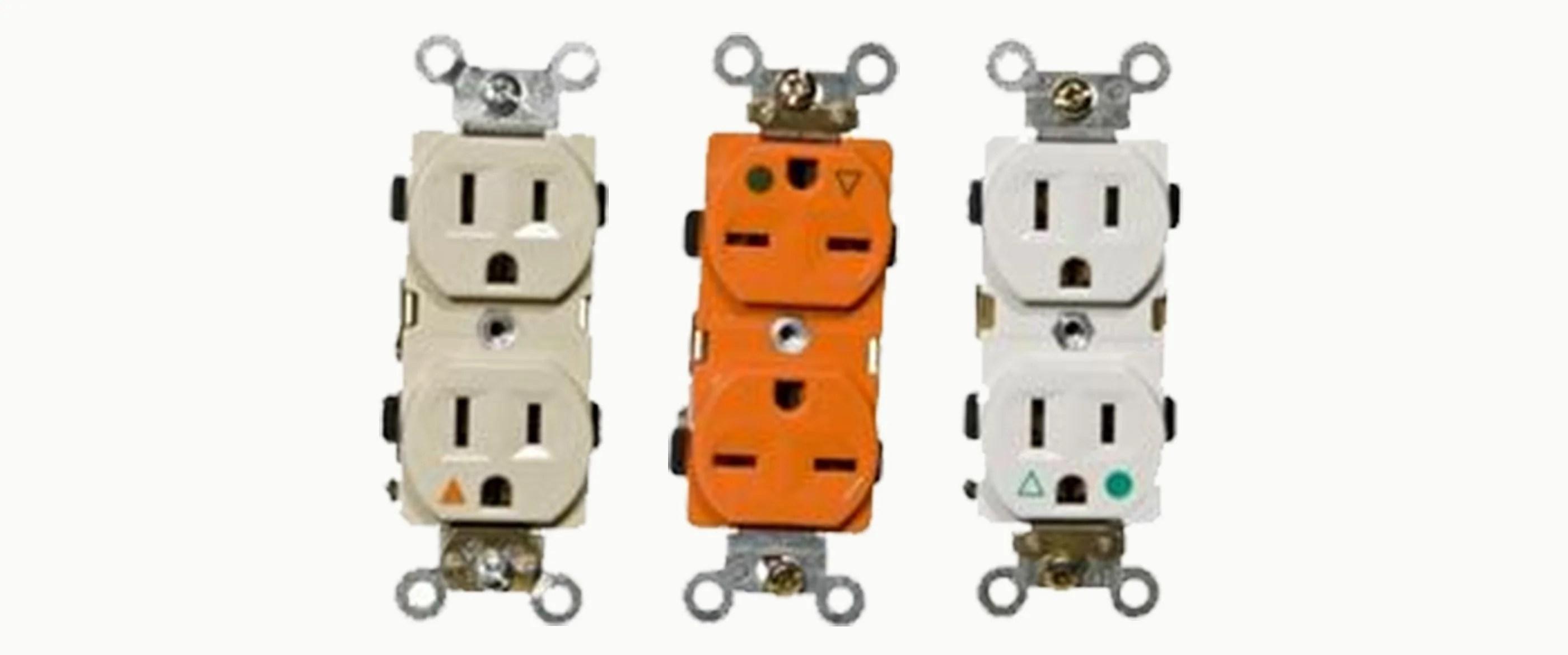 isolated ground decorative duplex receptacles [ 2800 x 1170 Pixel ]