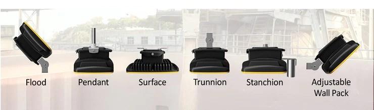 led hazardous location lighting fixture 45 watt 120 277v