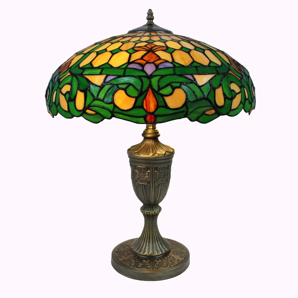 Colonial Style Table Lamps Tiffany Lamp