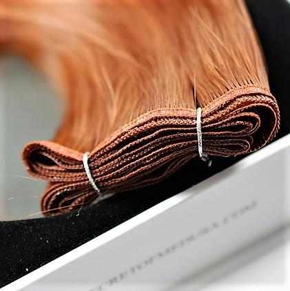 """weft 14"""" hair extensions natural"""