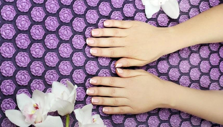 acu relax tapis d acupression en fleur de lotus