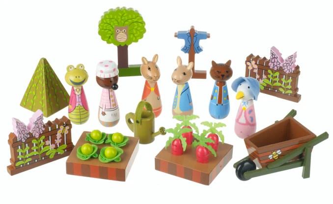 peter rabbit garden play