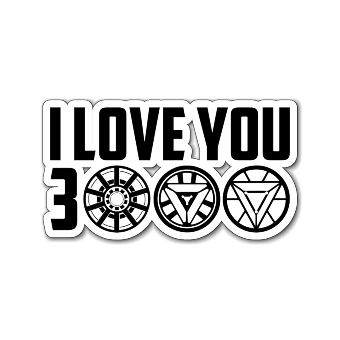 Download I Love You 3000 Avengers Endgame Magnet - HipsterZero