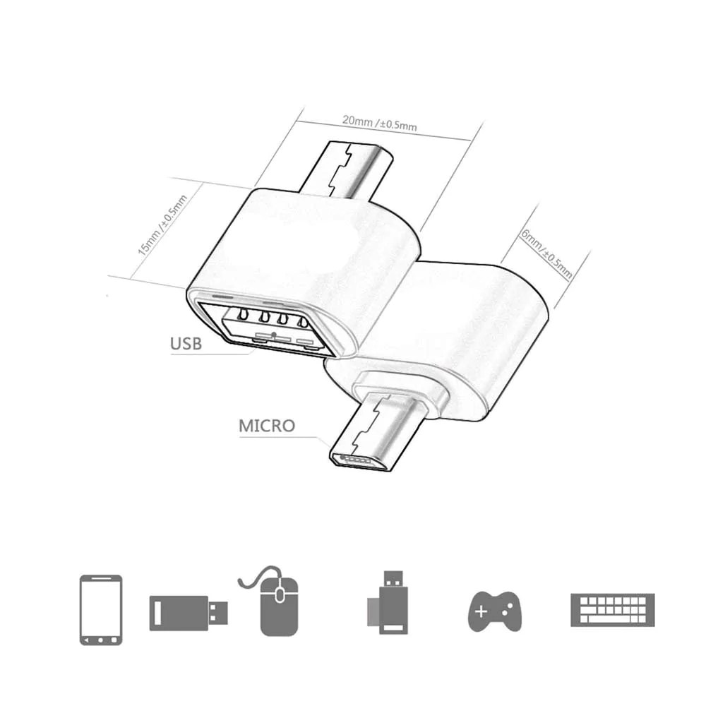 small resolution of  micro usb otg cable adapter tech my toy