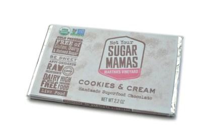 Cookies and Cream (Dairy Free) White Chocolate Bar