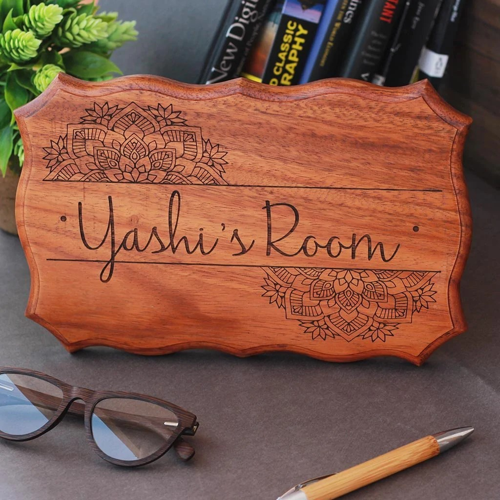 Wooden Name Signs For Home Personalized Bedroom Door Name Signs Usa Woodgeekstore