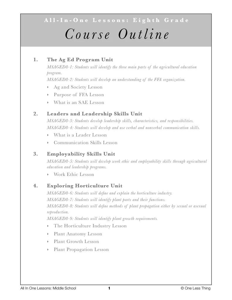 medium resolution of Middle School 8th Grade
