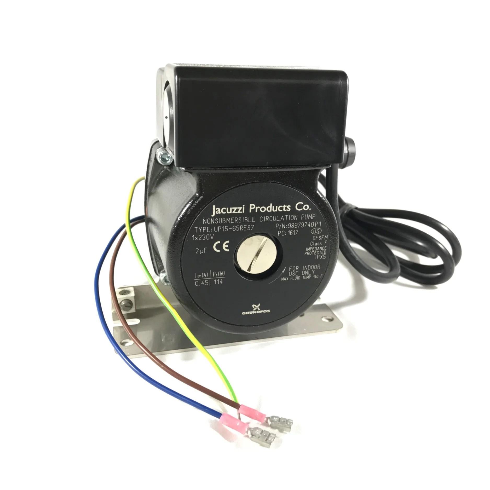 jacuzzi hot tub circulation pump 240vac 50hz part no 6000 125 [ 1875 x 1875 Pixel ]