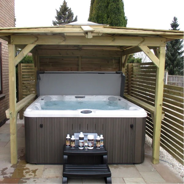 Brentano Hot Tub Gazebos  Spa Buildings from Outdoor Living
