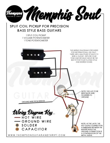 filterbilly humbucker pickup wiring diagram  thompson