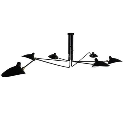 北歐後現代展廳吊燈復古創意客廳臥室公寓燈具餐廳張牙舞爪吸頂燈– LuxHKHome