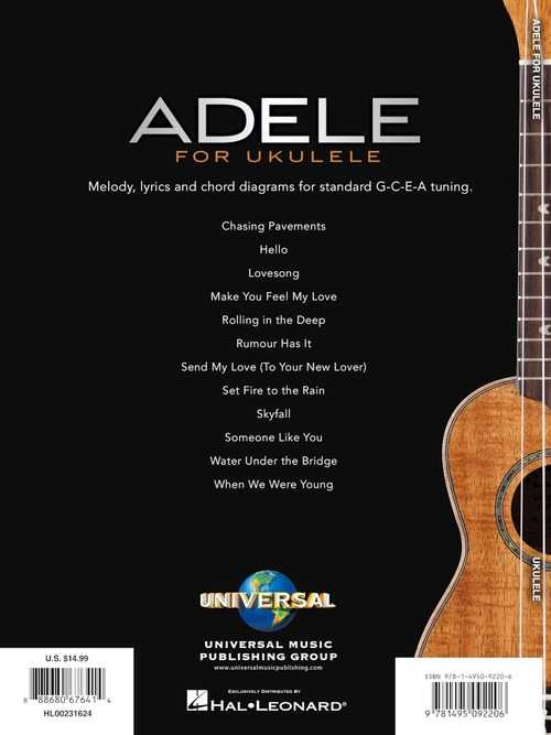 Rithka: Adele When We Were Young Chords Ukulele