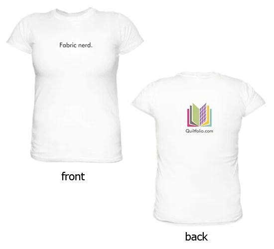 Fabric Nerd t-shirt