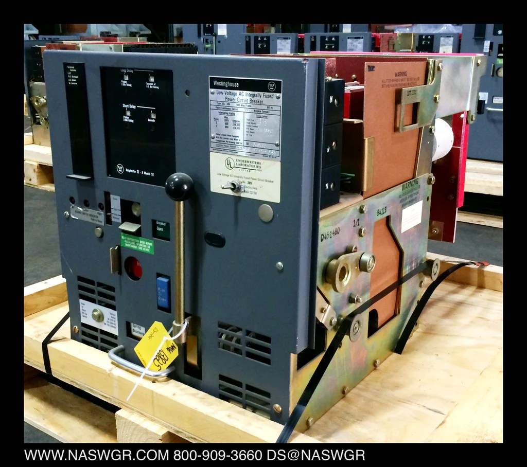 medium resolution of westinghouse dsl 206 circuit breaker e o d o 800 amp frame north american switchgear store