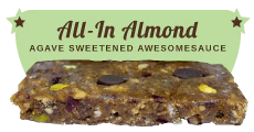 All-In Almond: Peanut Free and Vegan