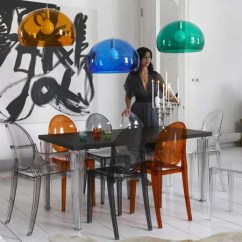 Design Chair Kartell Unique Sashes Victoria Ghost Set Of 2 Urbanspace Interiors By