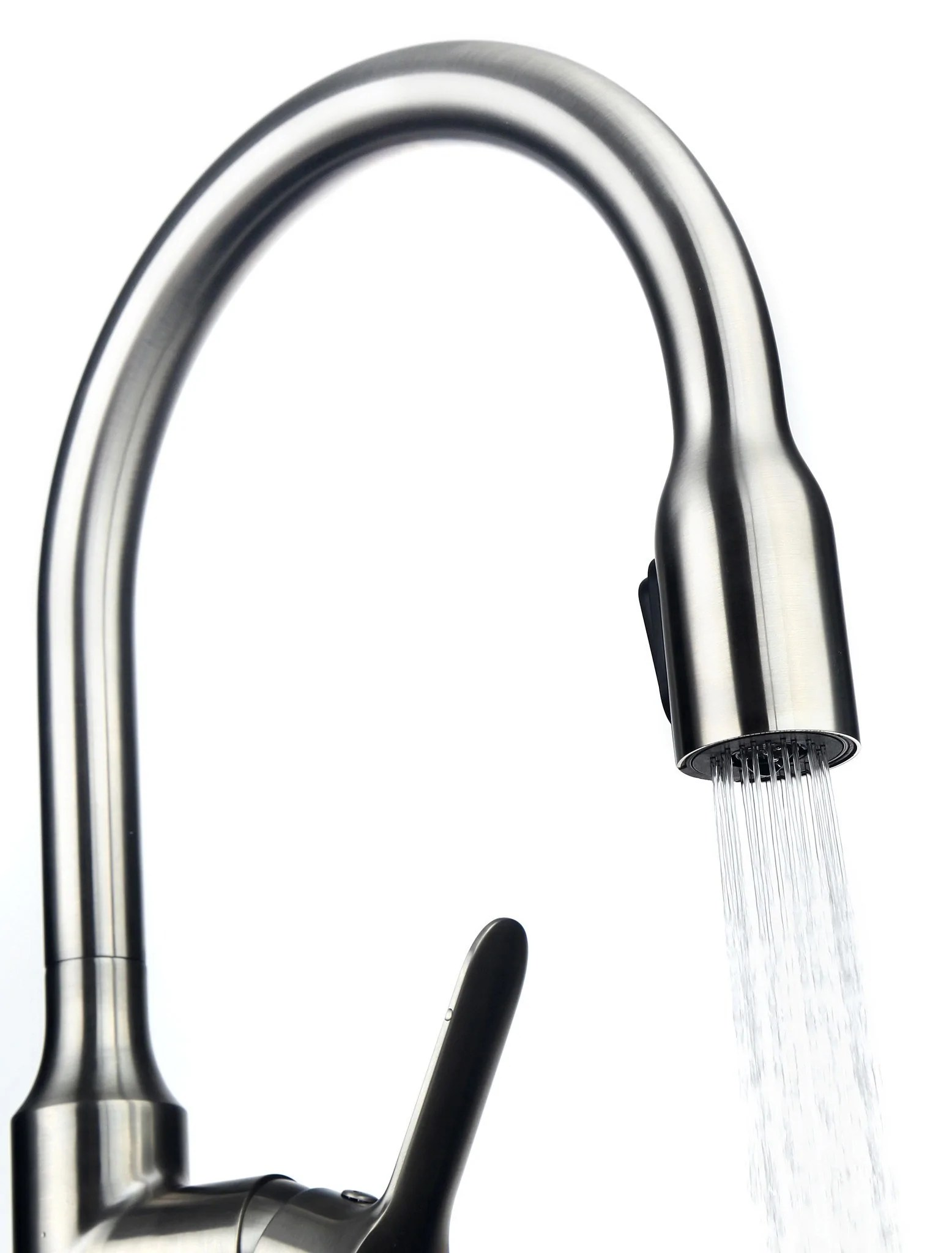 high flow kitchen faucet aerator navy cabinets allora usa - a-715-bn single hole ...