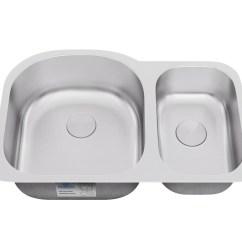 30 Kitchen Sink Cheap Cabinet Allora Usa Ksn 2131 31 X 21 9 7 Undermount 70 Double Sinks Bowl Stainless Steel