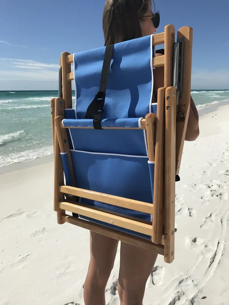 30A Beach Chairs Backpack Style with NO Leg Rest and